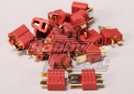 Nylon T-connectors 1 male or 1 female
