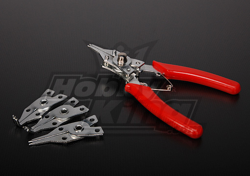 C-Clip Ring Plier 4 in 1 set