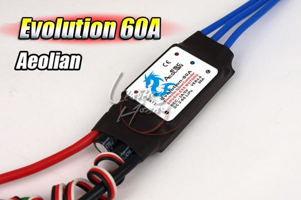 Aeolian Evolution 60A ESC Speed controller for airplane