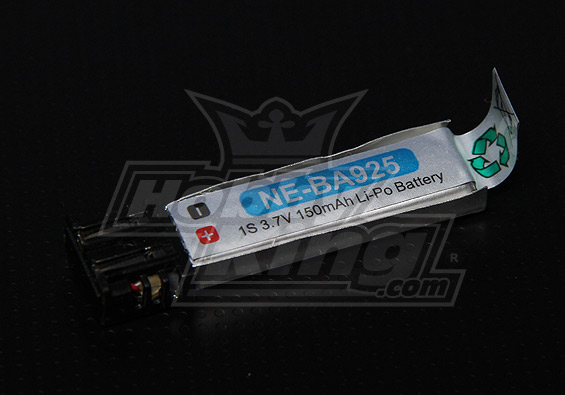 Nine Eagles replacement High-Cap 150mAh 1S LiPo