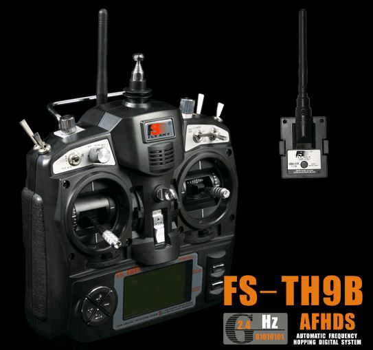 Fly Sky FS-TH9B AFHDS 9 ch.
